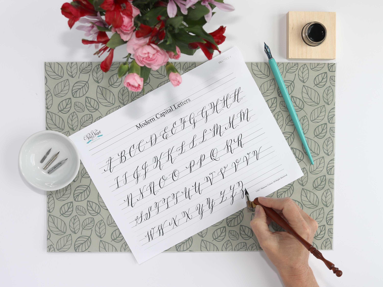 Houston Modern Calligraphy Class