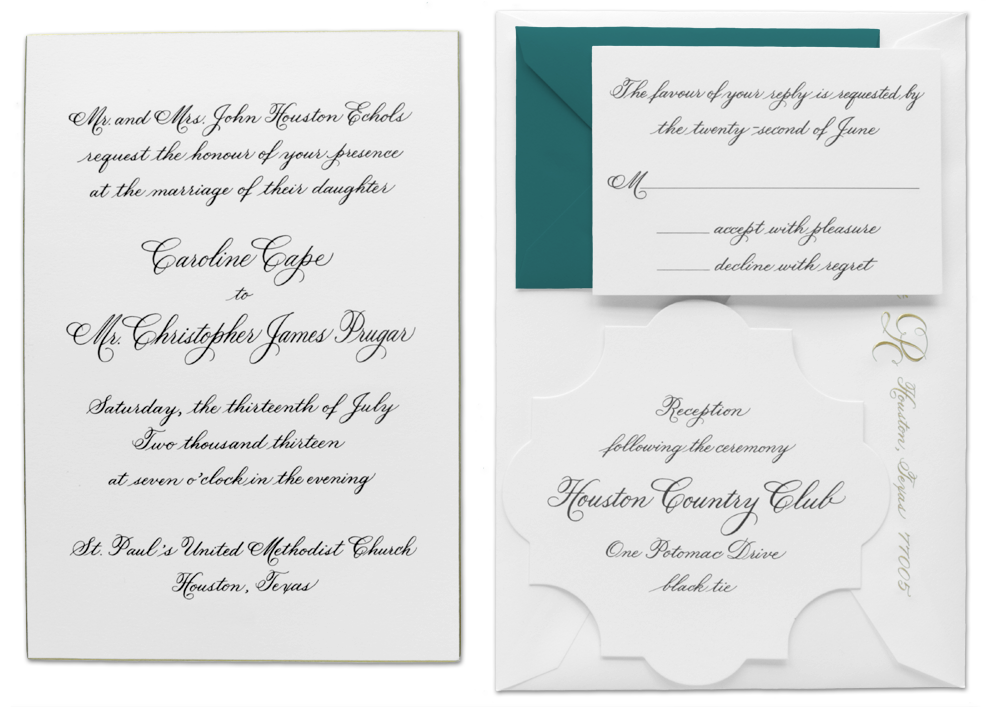 Invitation Design - Name Designs - Hand Calligraphy - Custom Styles